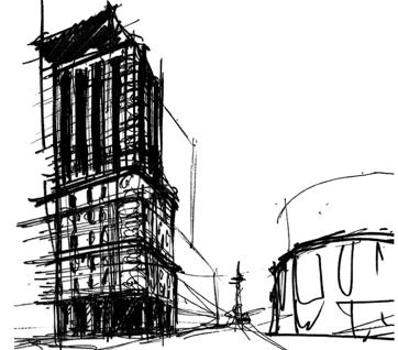 building drawing Austin Birch